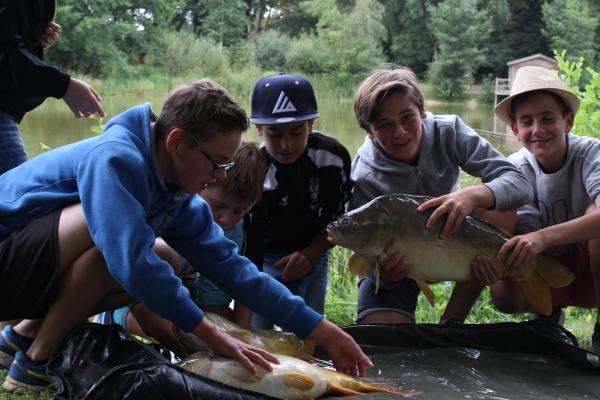 stage pêche enfant