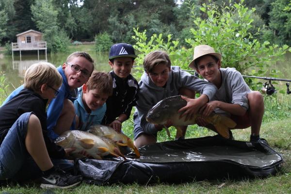 stage pêche moderne