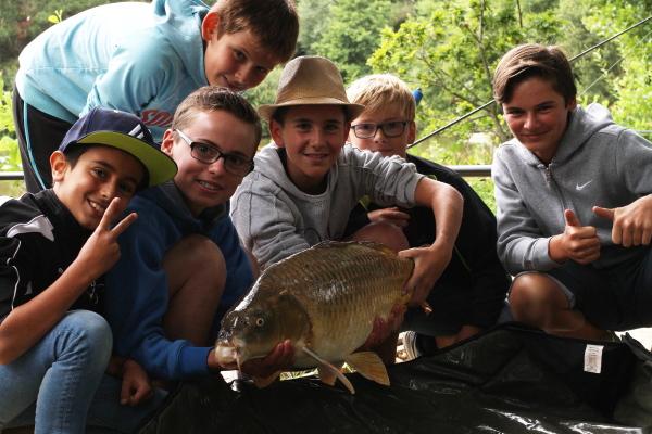 stage pêche enfant bretagne