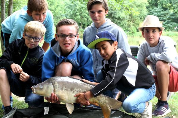 pêche carpe enfant bretagne