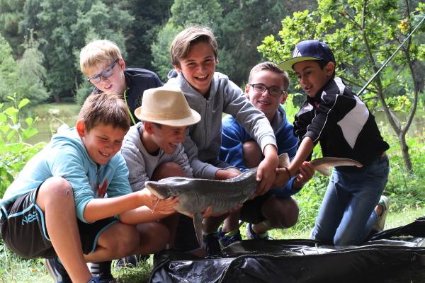 pêche enfant bretagne