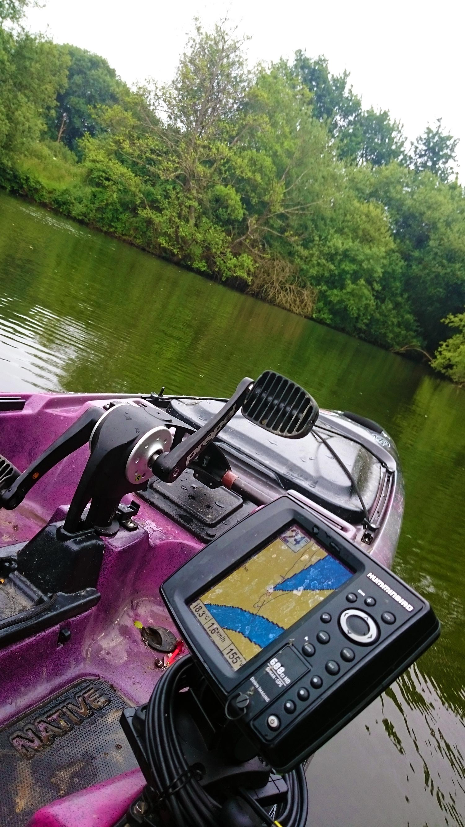 coffret cadeau peche kayak à pedales