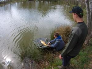 """coffret cadeau pêche fishing box """"journée à la pêche """""""