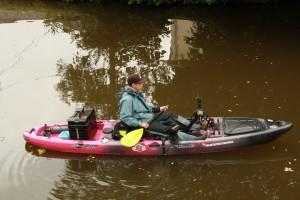 coffret cadeau pêche kayak à  pédales 10