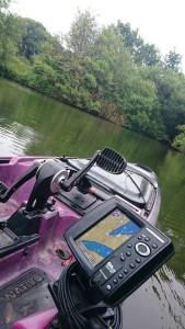 coffret cadeau pêche kayak à  pédales 9
