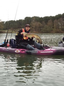 coffret cadeau pêche kayak à  pédales 8