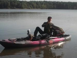 coffret cadeau pêche kayak à  pédales 1