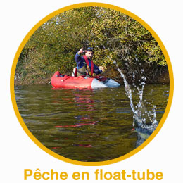 Pêche en float tube