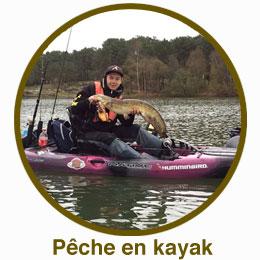 Coffret cadeau pêche Fishing Box- Kayak à pédales